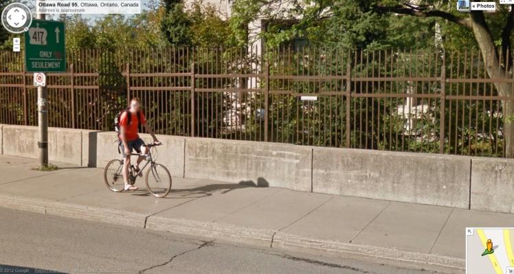 2012 Street View Sighting in Ottawa