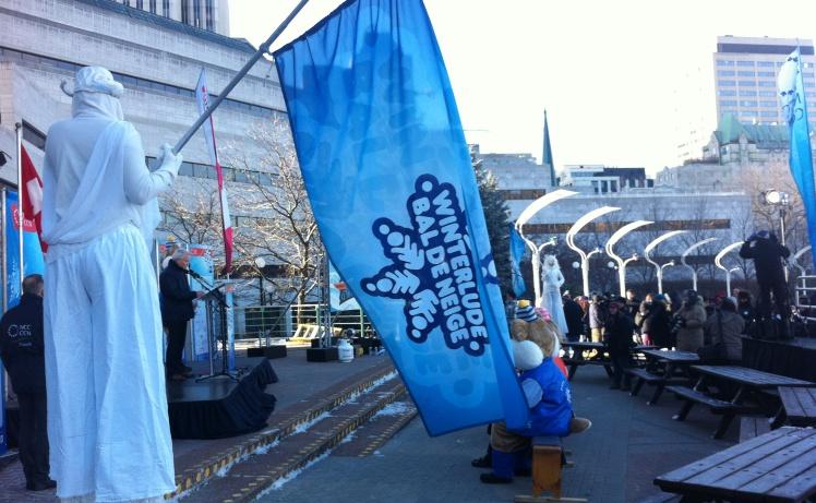 Winterlude Launch at Ottawa City Hall