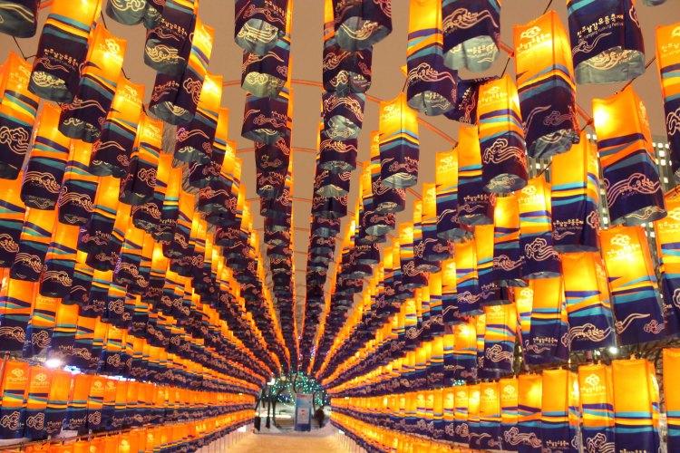 Lantern Garden of the Jinju Namgang Yudeung Festival