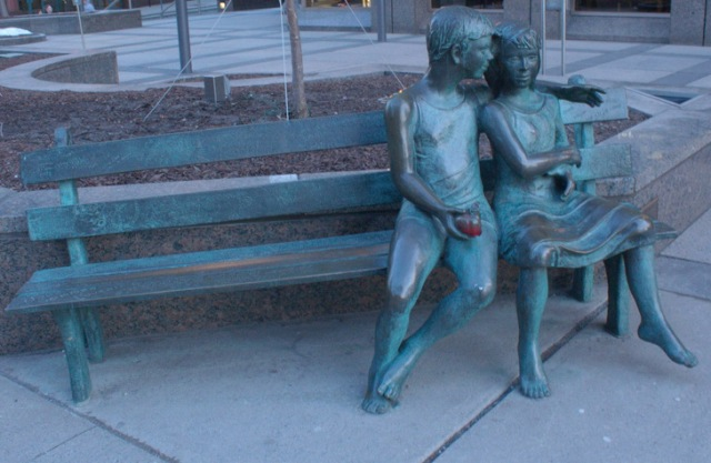 We have one of these in Ottawa too! read: http://ottawaphotochallenge.blogspot.ca/2013/02/232-secret-bench-as-seen-in-front-of.html