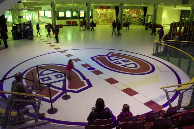 Inside the old Montreal Forum