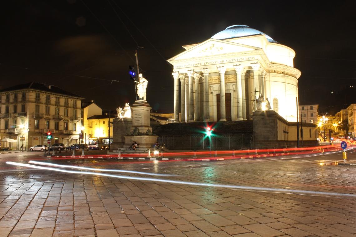 The church of Gran Madre di Dio