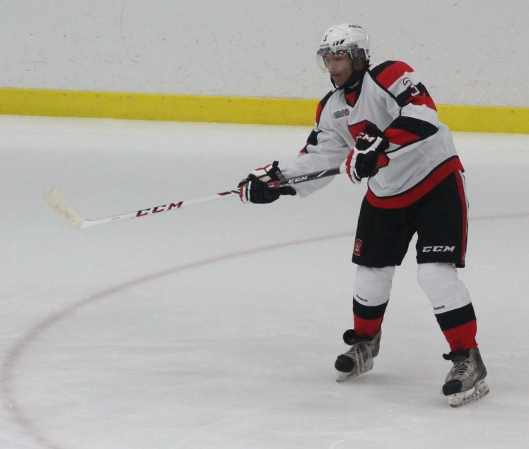 #3 Defenseman Troy Henley, 2nd round selection in the 2013 OHL Draft