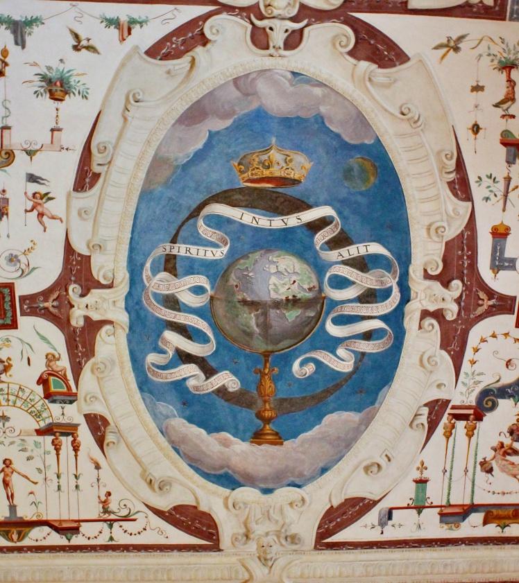 Spiritus intus alit - Spirit within sustains.