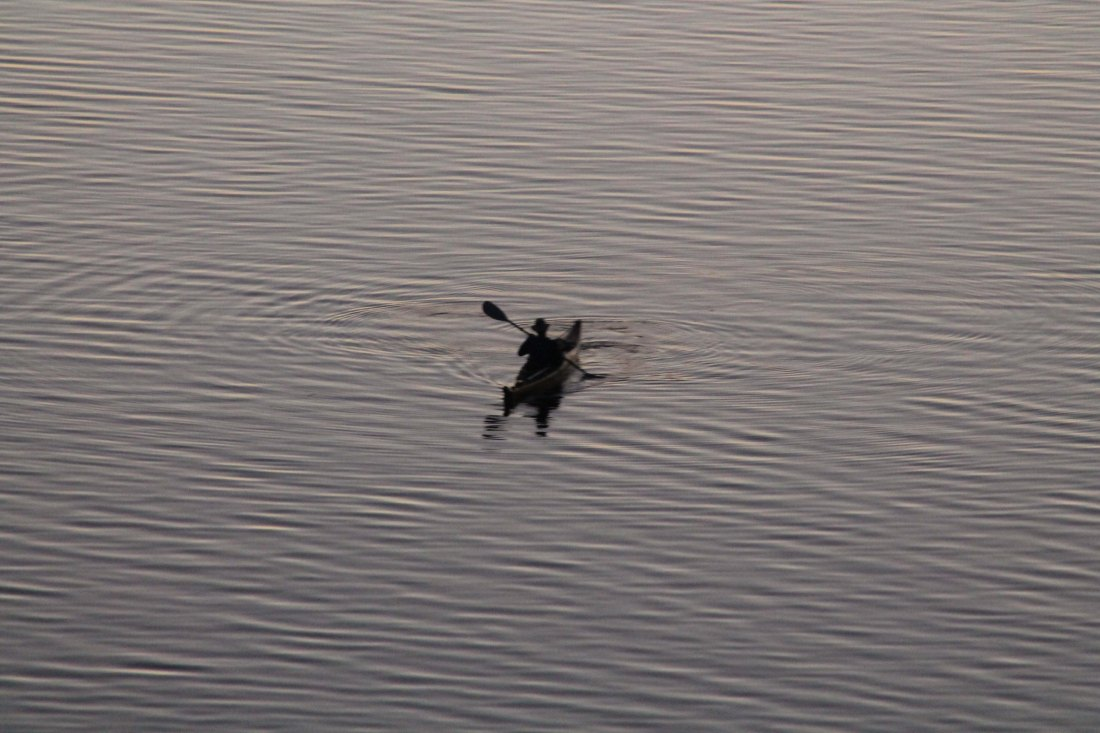 Lone Kayaker on the Ottawa River