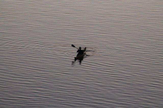 Lone Kayaker on the Ottawa River