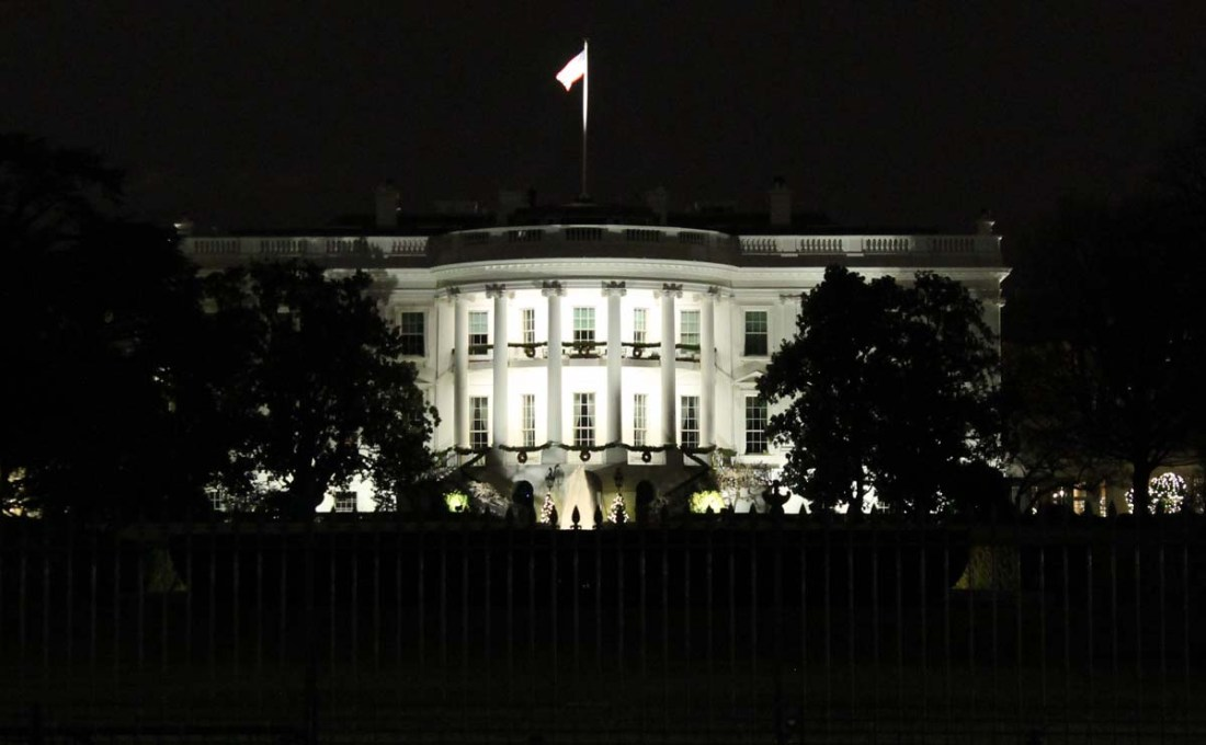 South Side of the White House