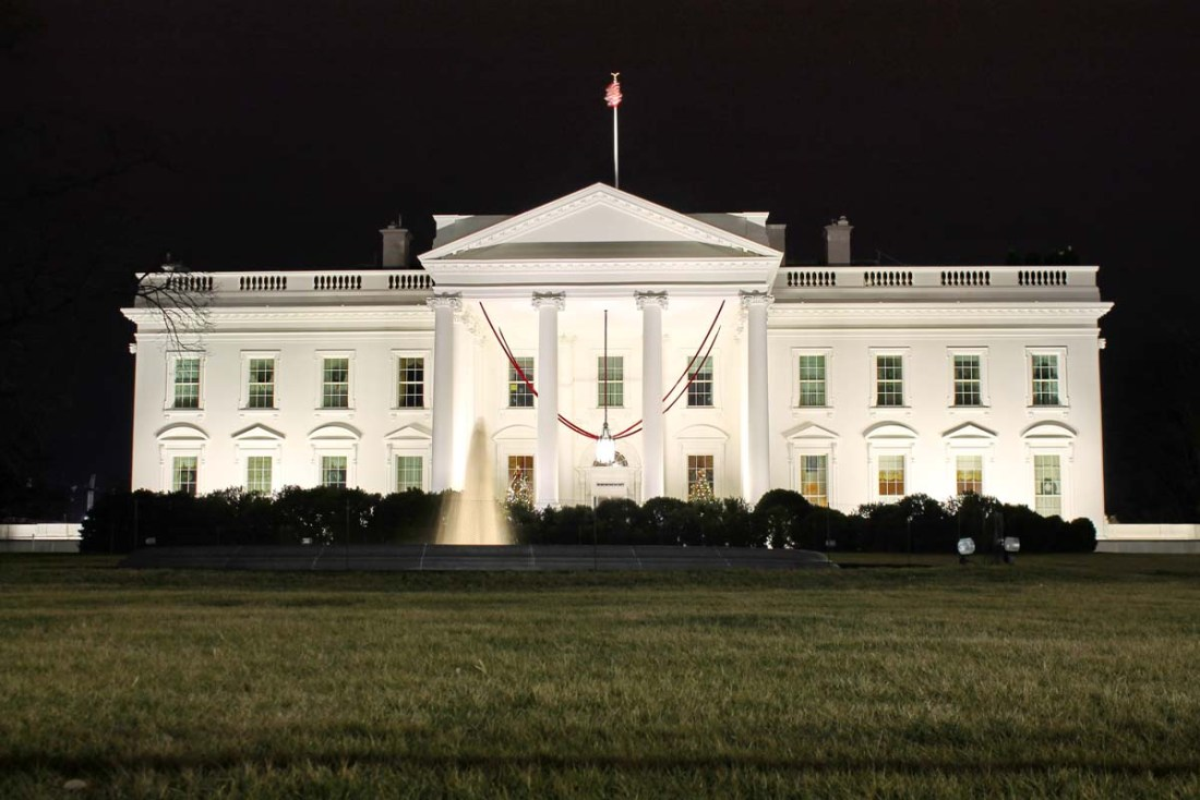 The North Side of the White House