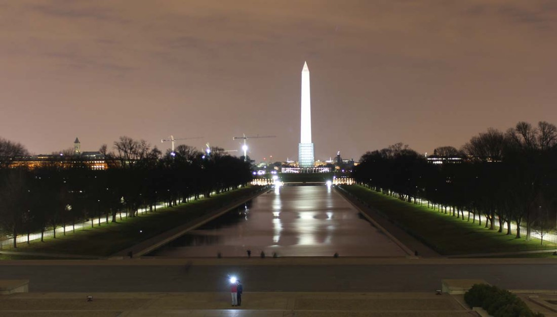 The View from the Lincoln Memorial
