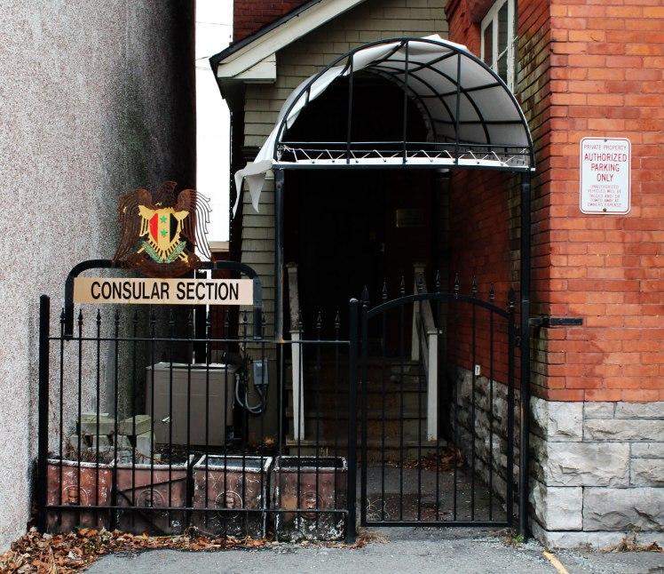 MacLaine_Syrian_Embassy_Ottawa_Consular_Entrance