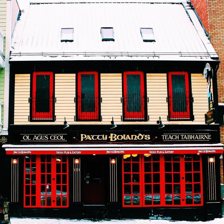 Patty Bolands - A Popular Pub