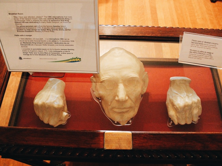 From 1860 - Plaster of Abraham Lincoln's Face and Hands