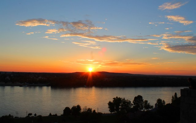 Sunset views from the lookout spots.