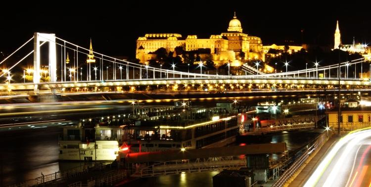 Budapest Skyline on the Danube River