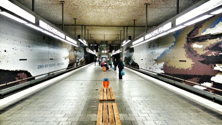 Rathenau Platz Ubahn Station